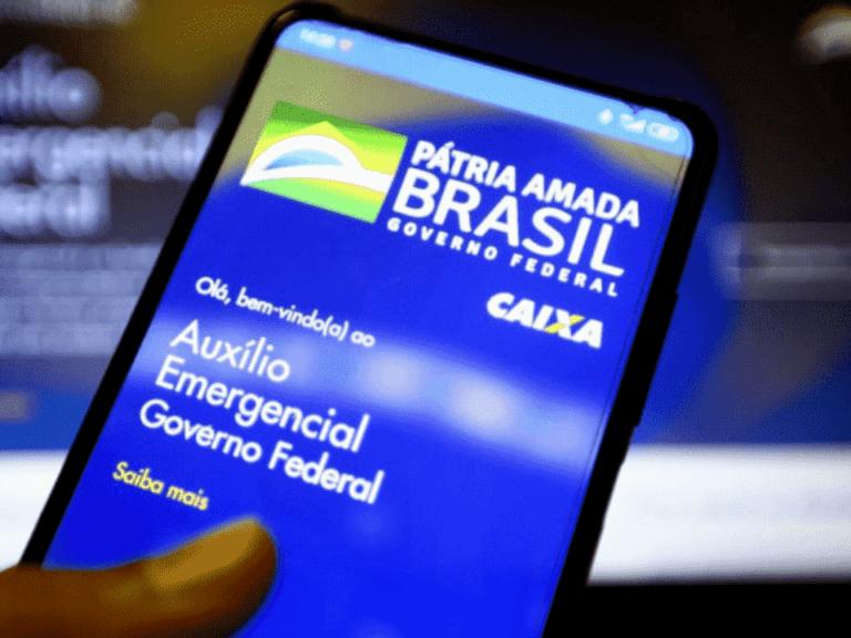 aplicativo auxílio emergencial, representando ciclo 2 outubro e novembro