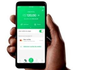 Imagem de um celular representando o conteúdo que ensina como ganhar dinheiro com PicPay