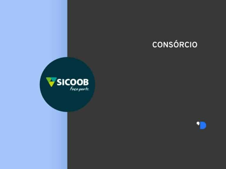 Imagem com a logomarca do Consórcio Sicoob