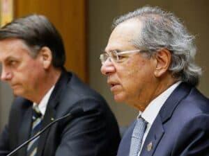 Imagem do ministro Paulo Guedes, que afirmou que a economia com reforma administrativa seria de até R$ 300 bilhões