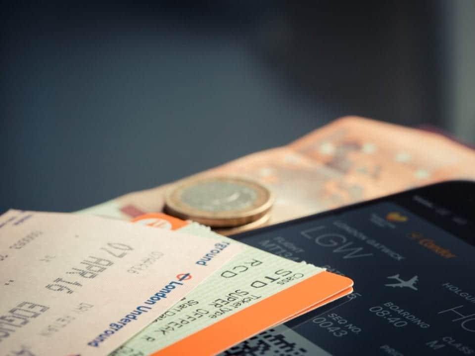 Imagem de um cartão de embarque, simbolizando a notícia em que a Modalmais lança programa de pontos