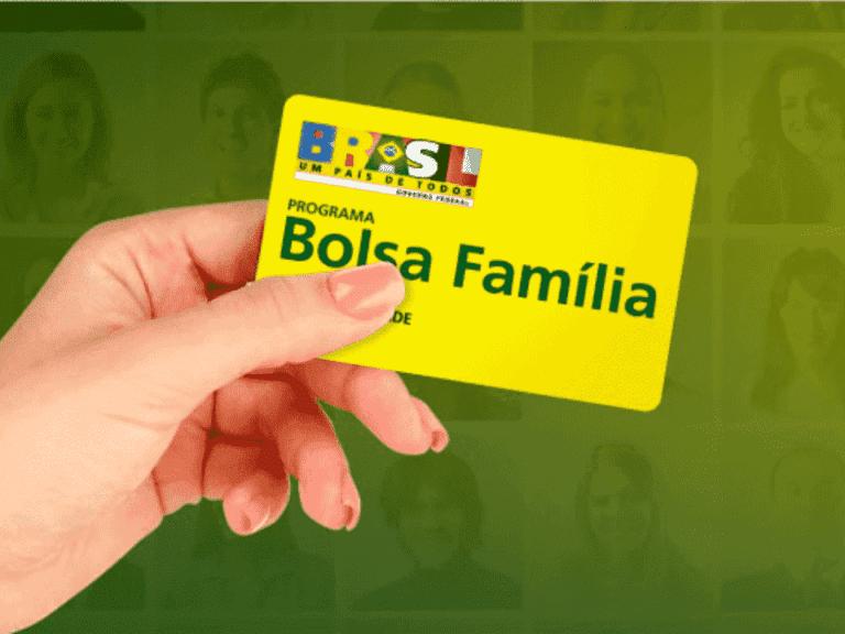 cartão do bolsa família representando novo substituto do bolsa família