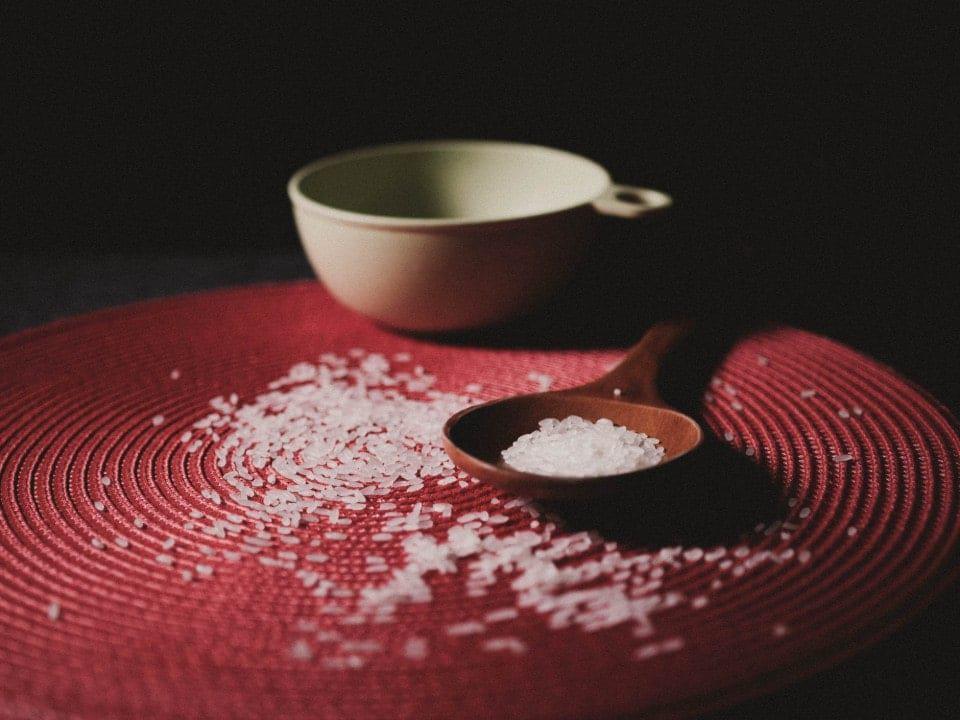 Imagem de arroz simbolizando a notícia em que o preço do arroz deve subir ainda mais
