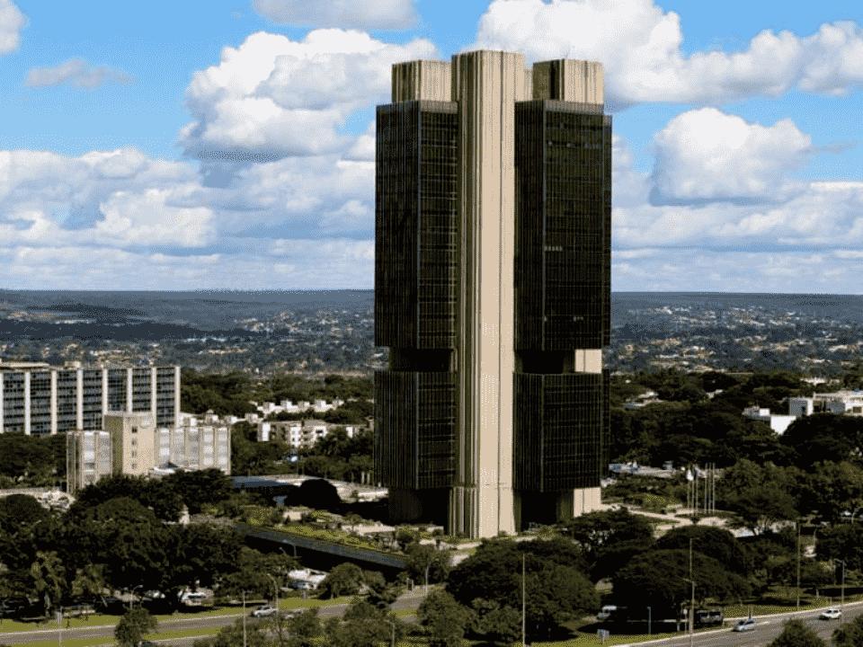 prédio do banco central, representando selic em 2%