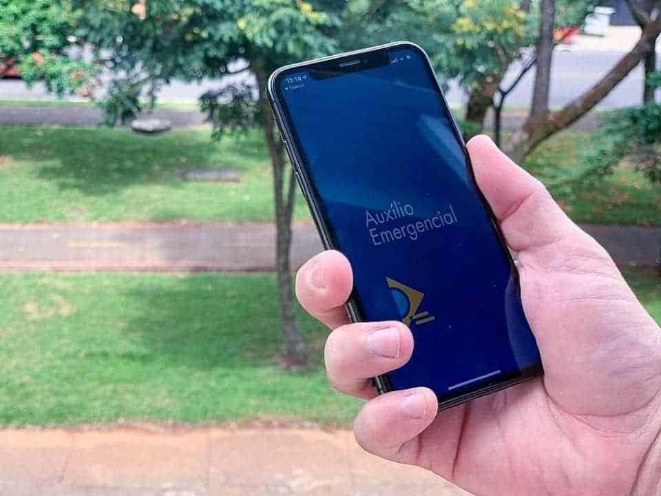 Imagem do aplicativo do Auxílio Emergencial, representando o novo pagamento da sexta parcela do auxílio emergencial para beneficiários do Bolsa Família