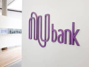 logo do nubank, representando Compra da easynvest pela nubank