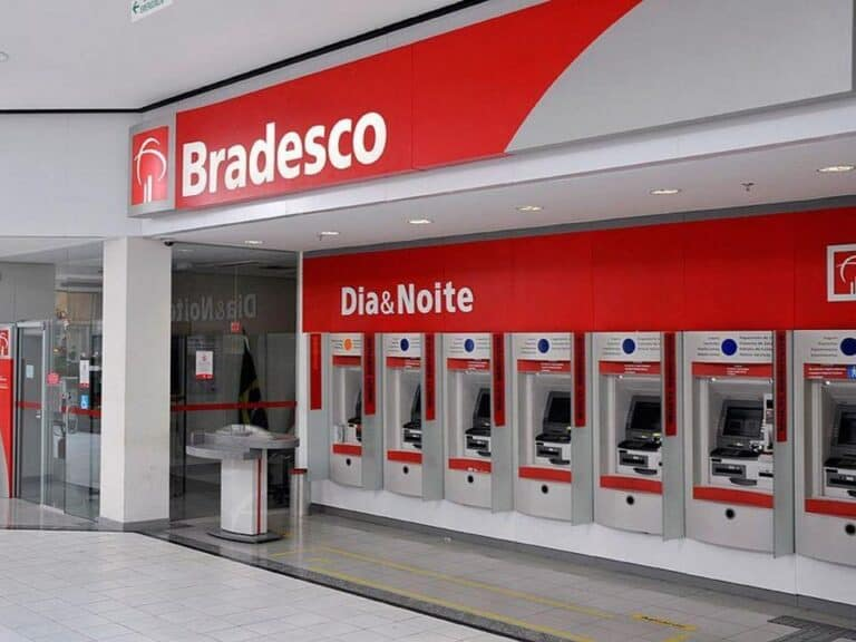 Fachada do Banco Bradesco, representando Bradesco na Black Friday