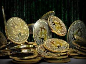 moedas de bitcoins representando QR Asset lança fundo de criptoativos