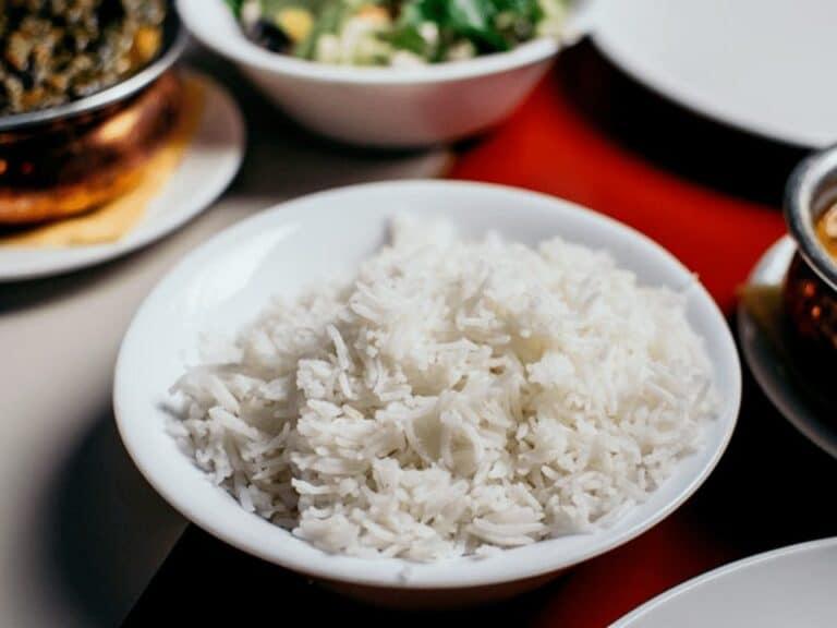 arroz, representando alta no preço dos alimentos