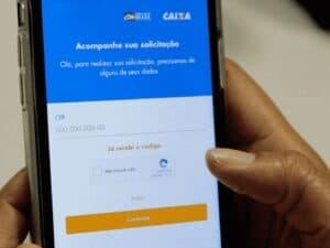 aplicativo do auxílio, representando auxílio residual setembro