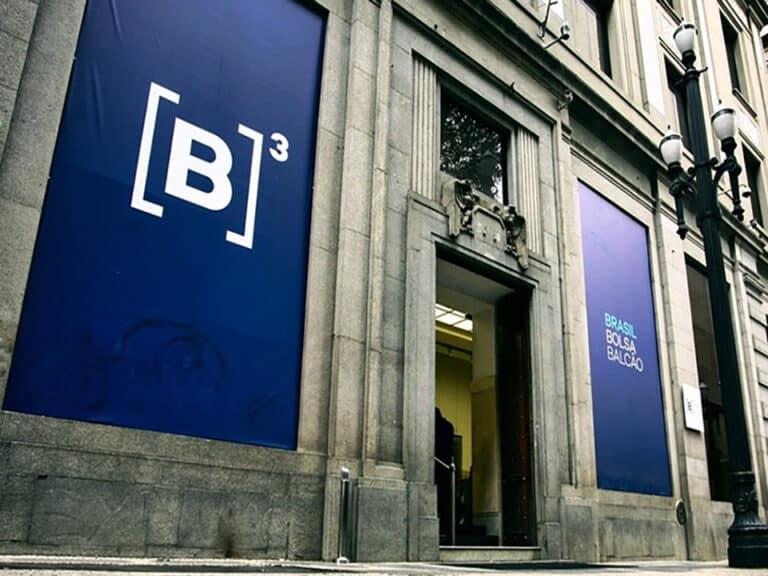 fachada da b3, representando b3 informa novos horários