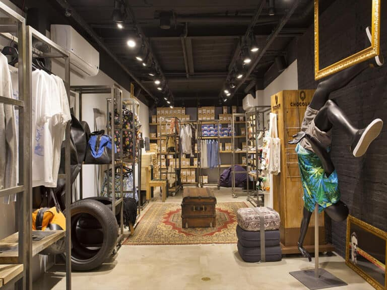 loja de roupas, representando brechó online da TROC