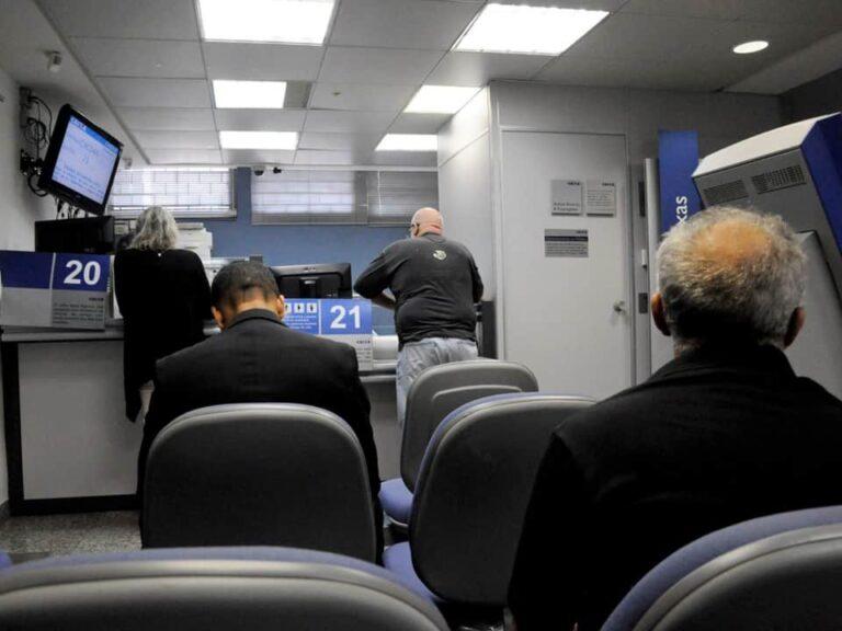 Imagem de uma agência da Caixa Econômica Federal, representando a notícia de que a Caixa regulariza meio bilhão em dívidas
