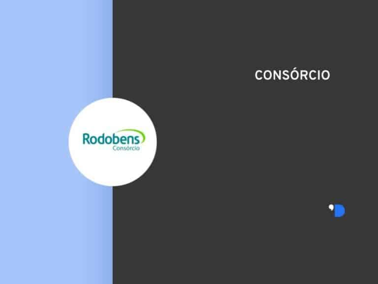 Imagem com a logomarca do Consórcio Rodobens