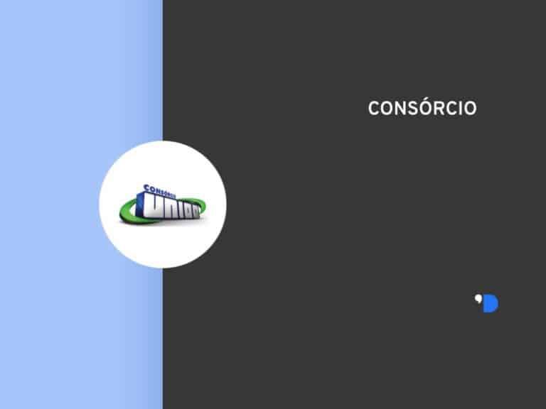 Imagem com a logomarca do Consórcio União