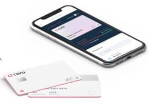 celular e cartão cora, representando cora bank lança cartão