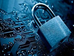 cadeado, representando proteger seus dados