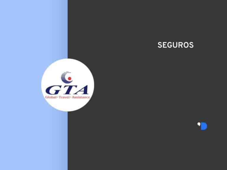Imagem com a logomarca da GTA Seguros