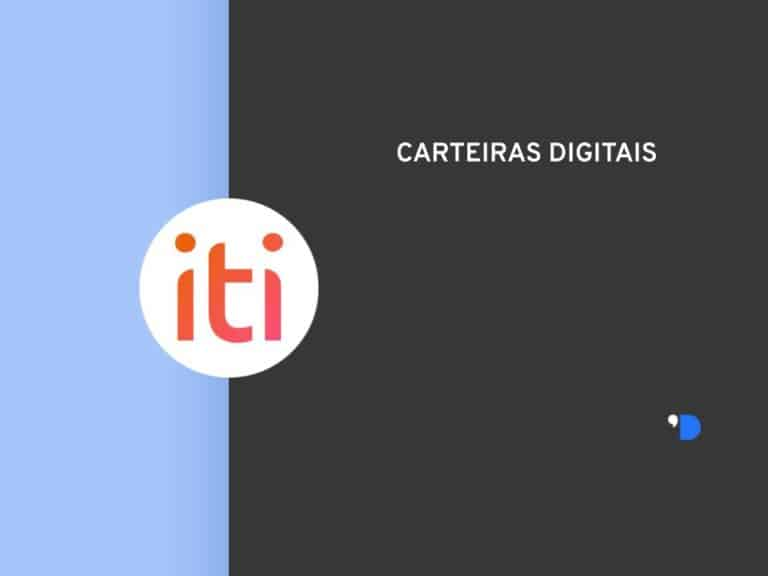 Imagem com a logomarca do Iti Itaú