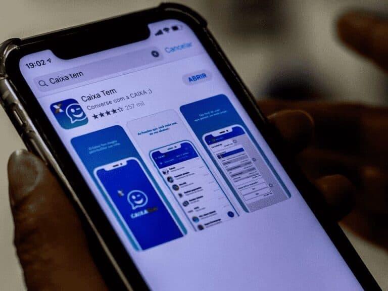 aplicativo caixa tem representando pagamentos sem cartão nas lotéricas