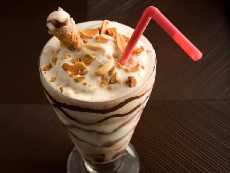 milkshake representando Black Friday do Bob's