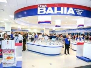 interior de loja da Casas Bahia representando Casas Bahia dá cupons de descontos
