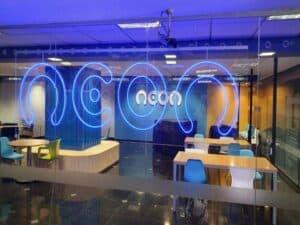 escritório da Neon representando Neon anuncia compra de ConsigaMais+