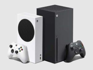 Dois consoles do Xbox representando nova geração do Xbox