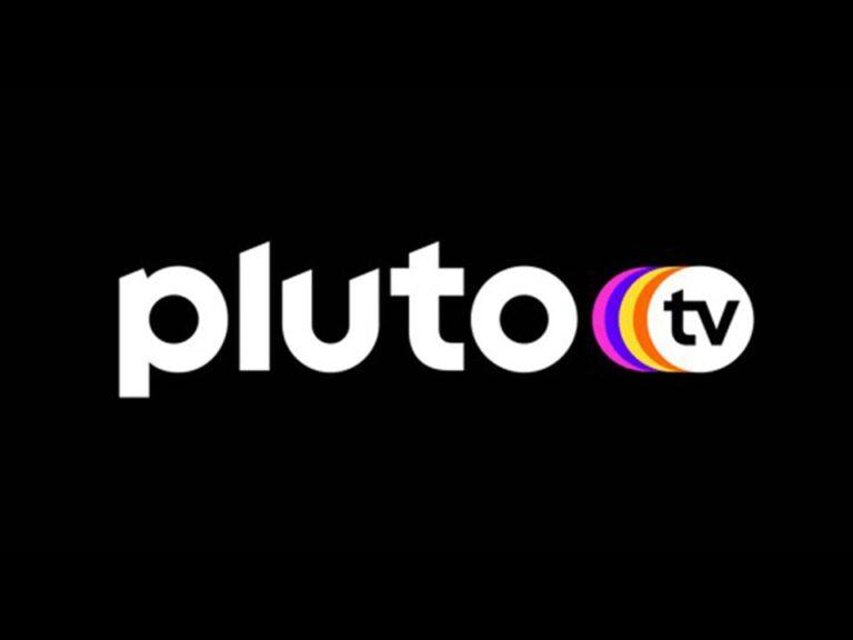 Logo da pluto tv, primeiro streaming gratuito do brasil