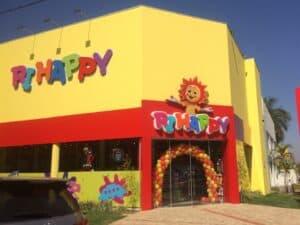 Fachada de uma loja da rIhappy, representando Vagas temporárias no Grupo Rihappy