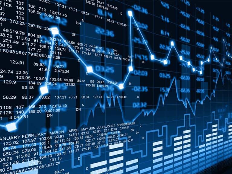 gráfico, representando black friday de investimentos