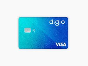 cartão digio, representando cashback no digio