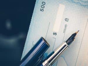 Cheque nominal