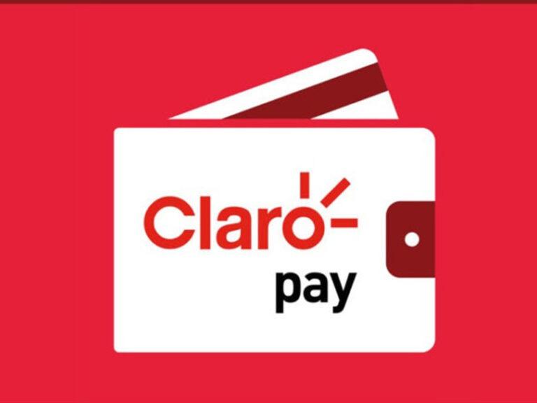 logo da claro pay, conta digital da claro