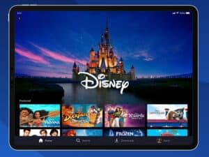 interface da Disney+, representando Disney+ inicia pré venda