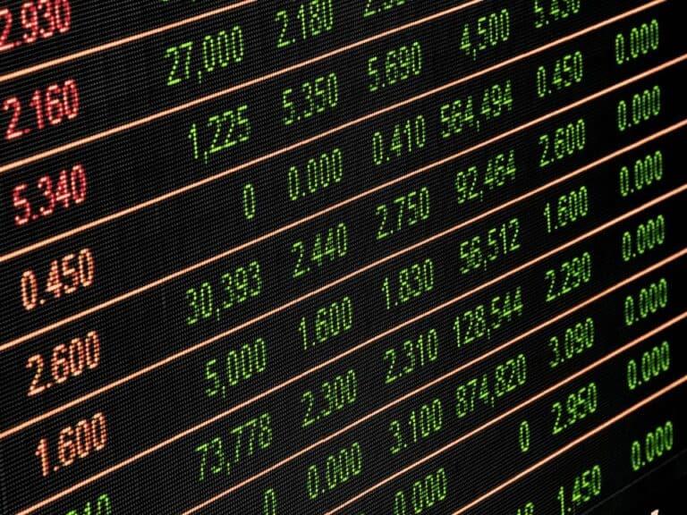 tabela, representando fundo de ações do inter