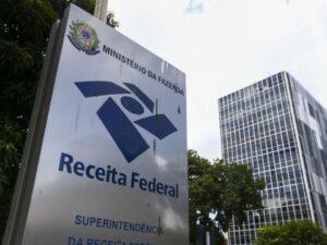 Fachada da Receita Federal representando Leilão da Receita Federal