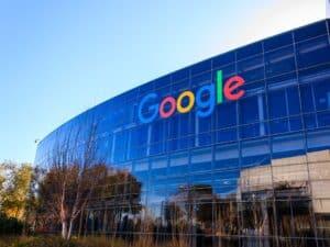 fachada do Google, representando programa de estágio do Google