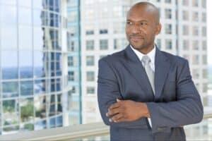 empresário negro, representando black founders fund