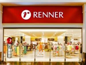 Fachada de uma loja Renner, empresa que oferece as vagas em moda
