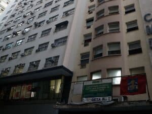 prédio, representando aluguel residencial