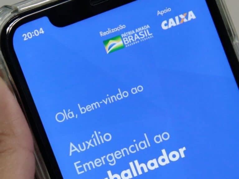 aplicativo do auxílio, representando contestar auxílio emergencial negado