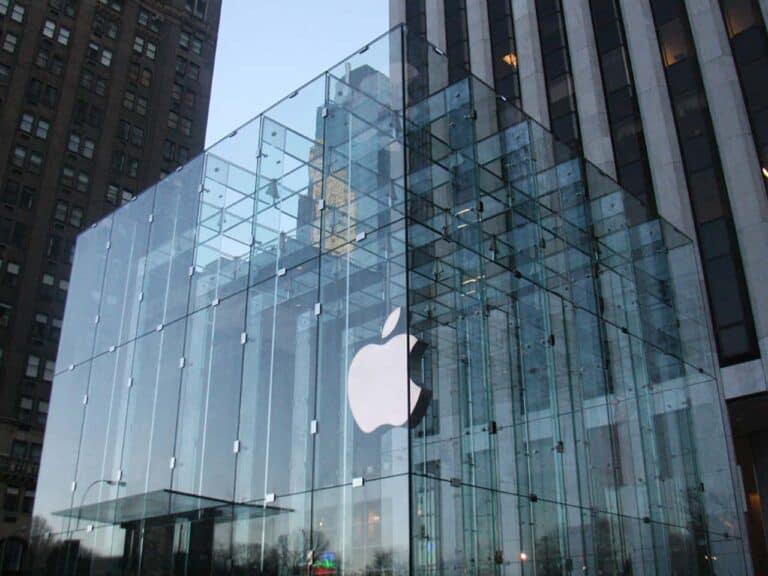 loja da apple, que pretende produzir carro autonomo