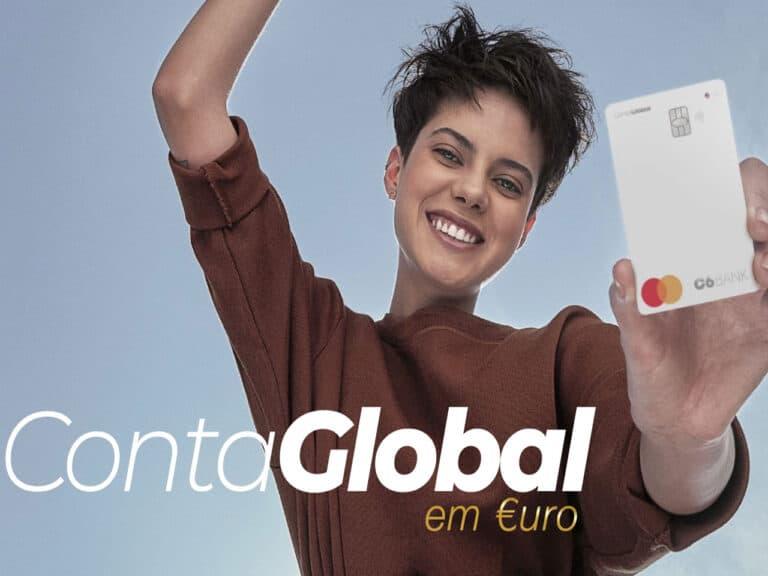 foto de divulgação da conta global euro, a conta digital com saldo em euro