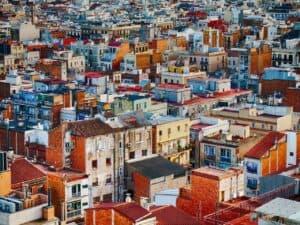 casas, representando inflação do aluguel