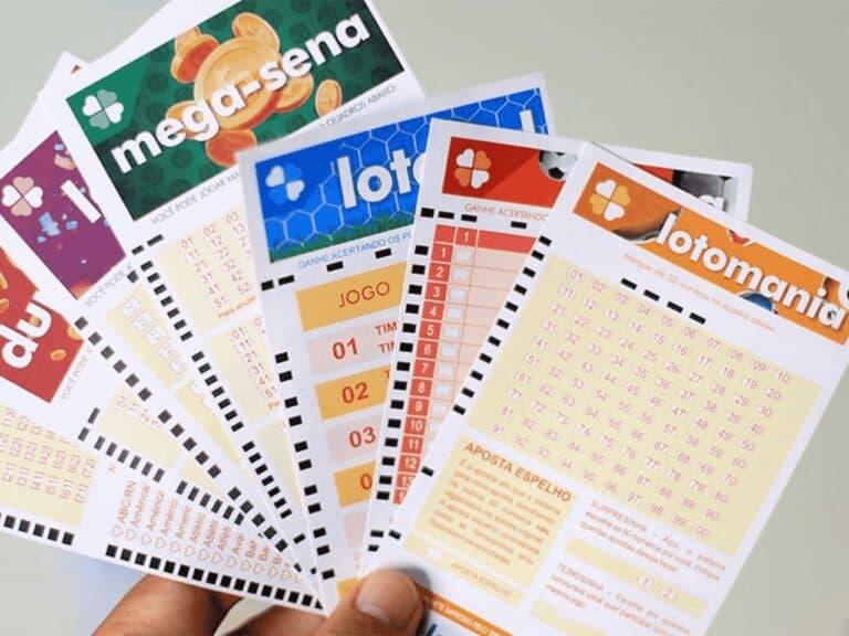 cartelas de sorteio, entre eles a lotofácil 2115