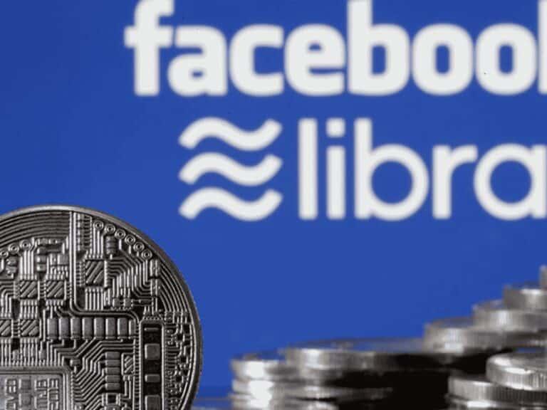 foto da moeda digital do facebook