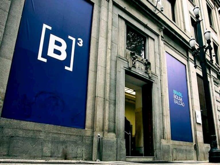 fachada do prédio da B3 representando número de pessoas que investe na bolsa