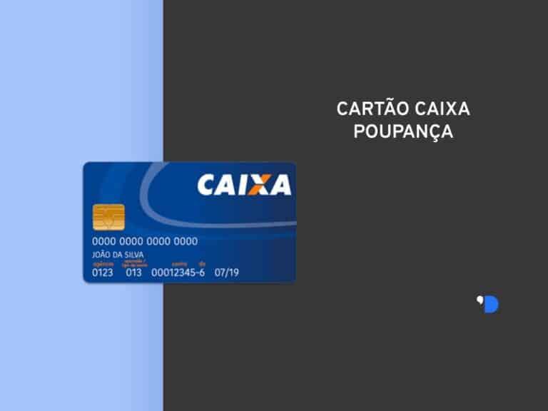 imagem de um cartão que ilustra o conteúdo sobre a senha do cartão caixa poupança