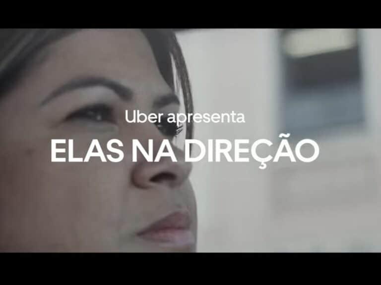 foto de divulgação da campanha elas na direção, uma iniciativa do Uber para mulheres